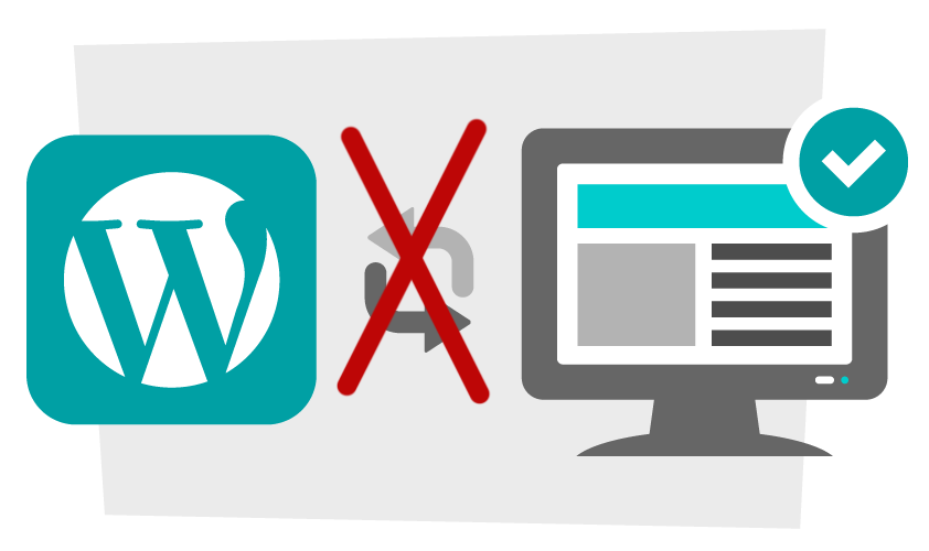 Как отключить обновление WordPress 2