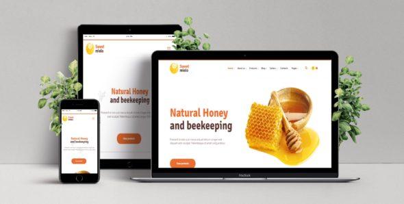 Шаблон сайта мед