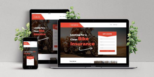 Шаблон для сайта страхование