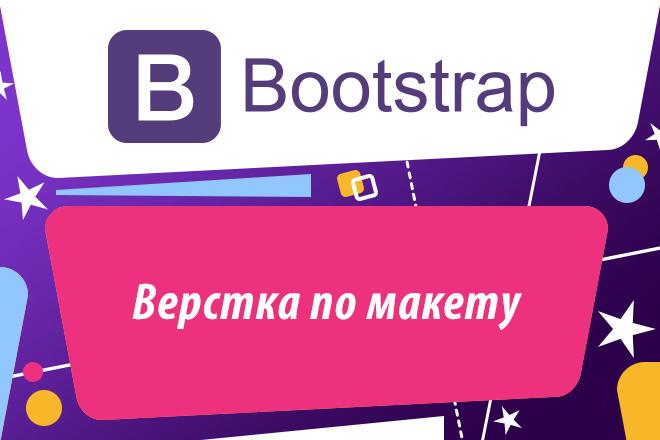 Верстка Bootstrap